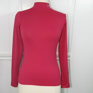 Nike Pro Combat hot pink top size XS